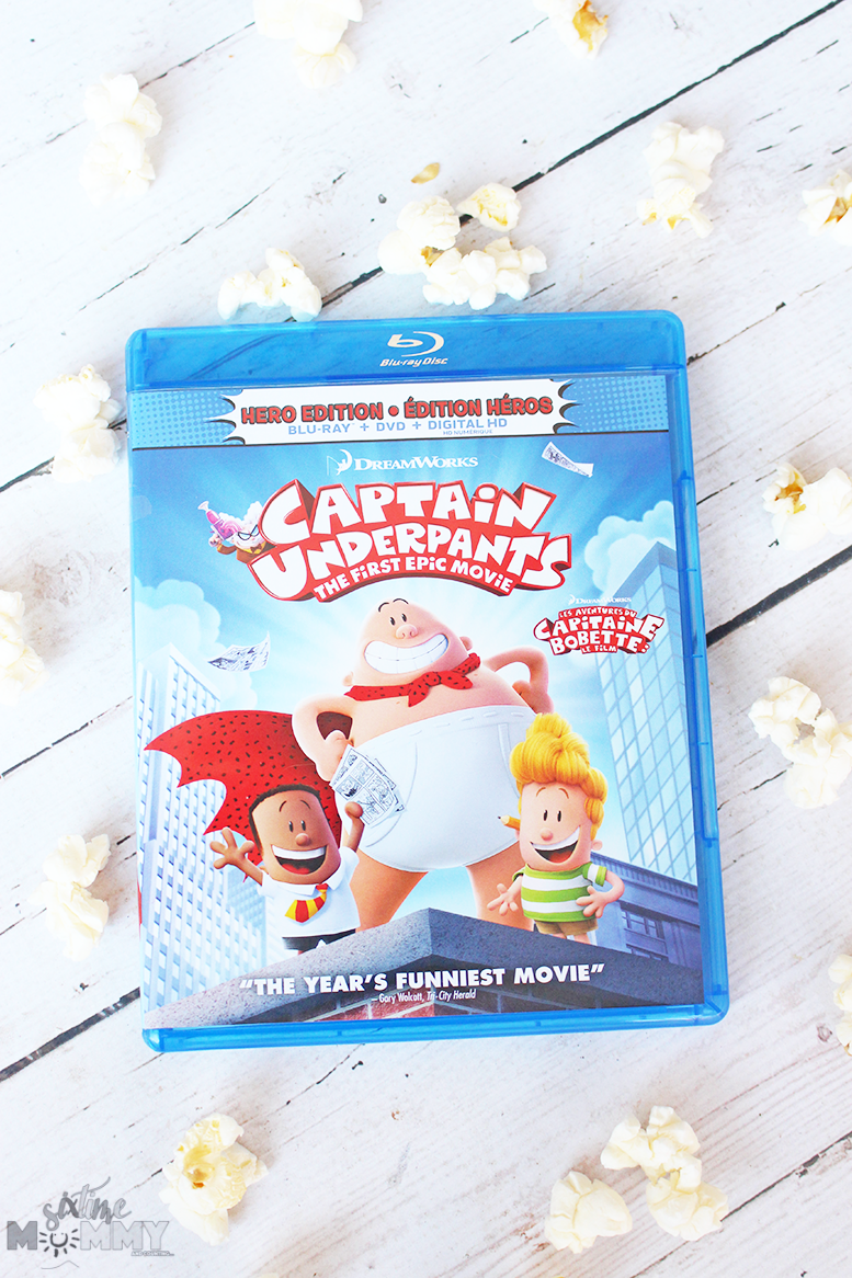 Have a Family Fun Night With Captain Underpants