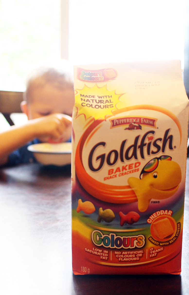 The Back-to-School Better Choice: Goldfish® Crackers