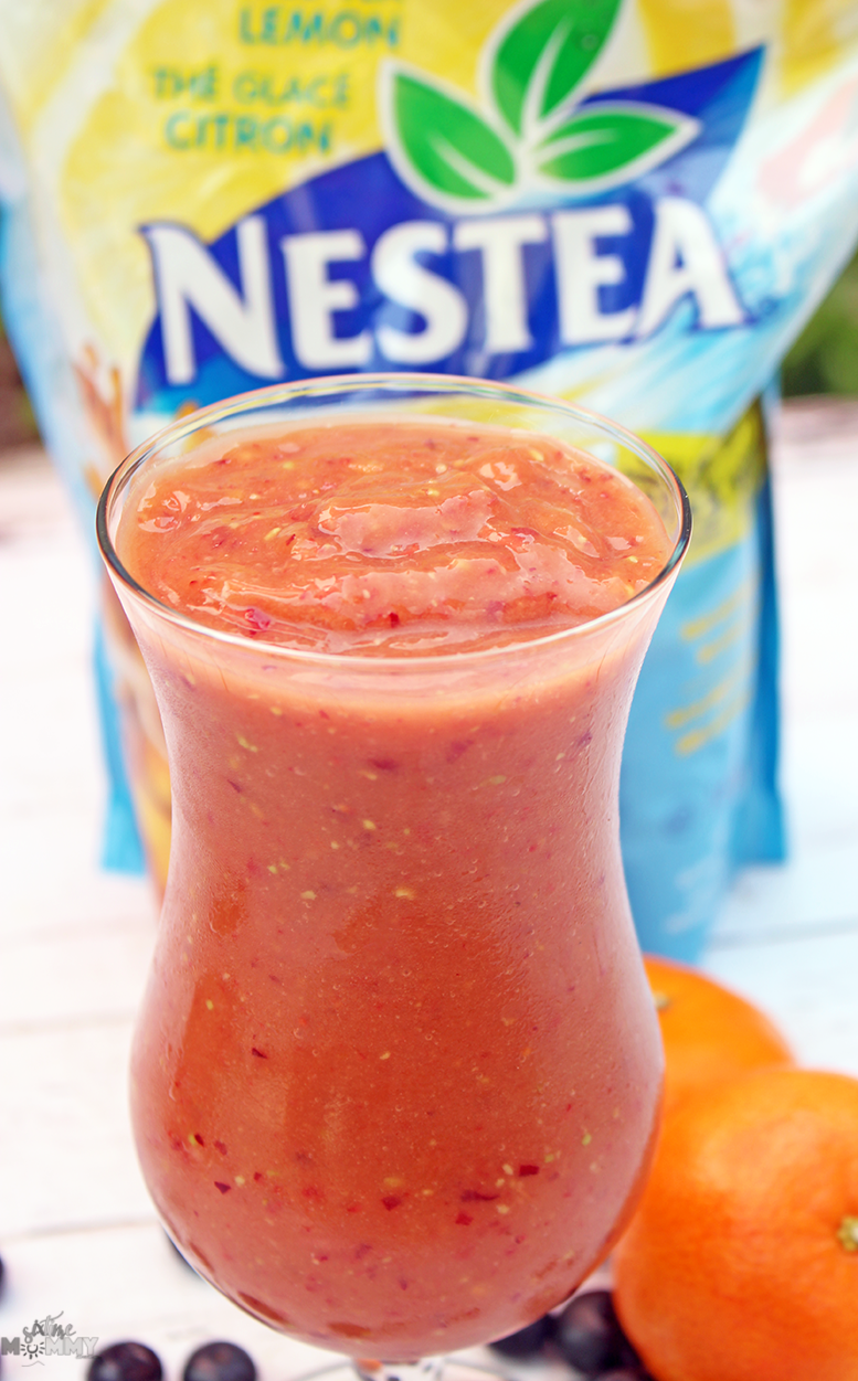 Fruit Iced Tea Smoothie