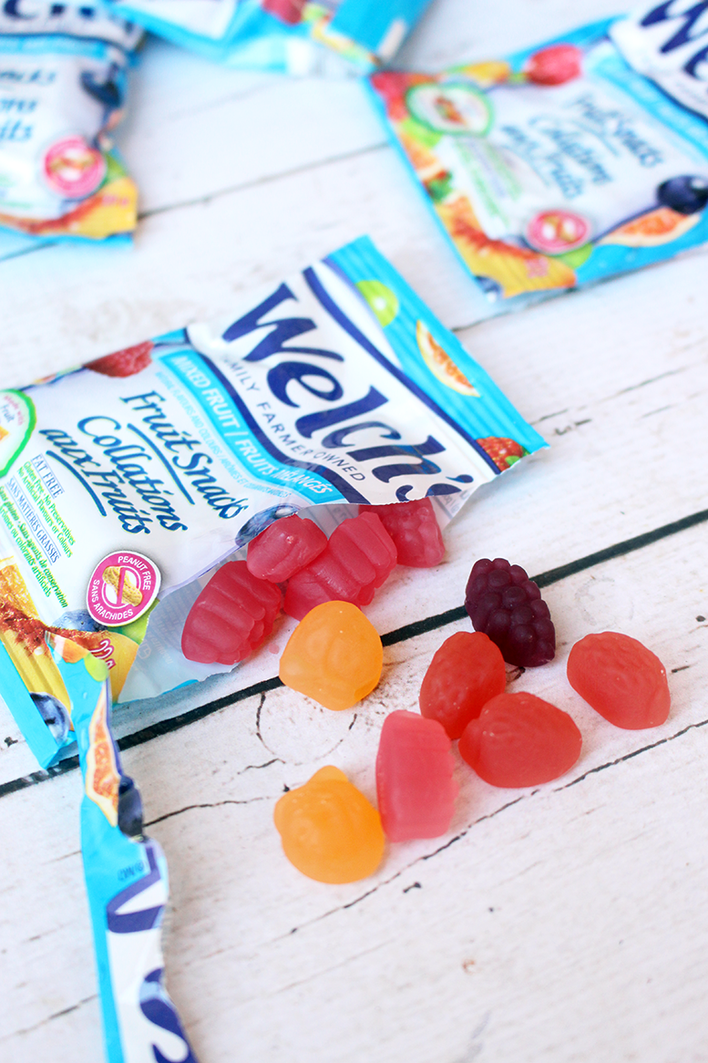 After School Snacking with Welch's Real Fruit Snacks