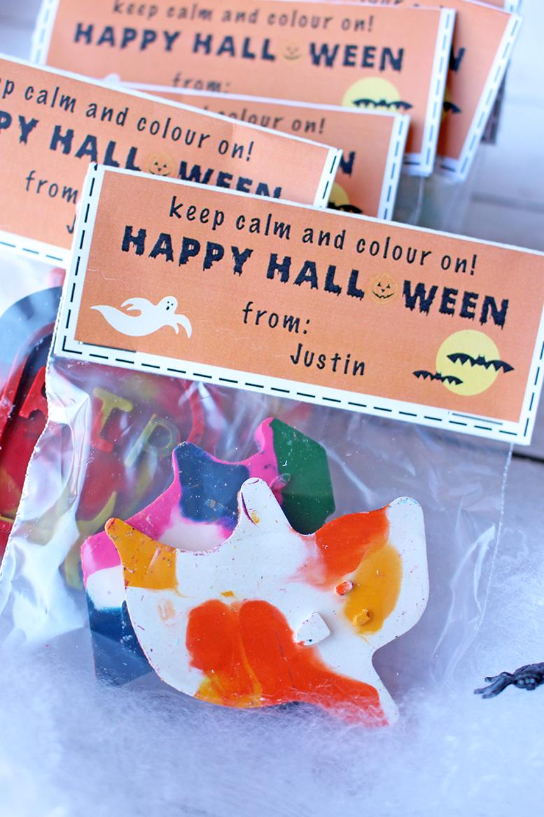 Fun Non-Candy Halloween Classroom Treats + FREE Printable!