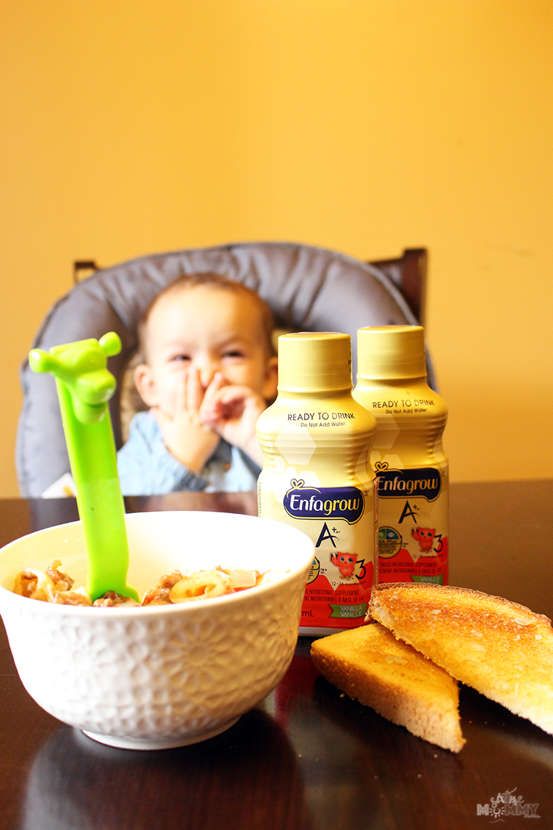 Tips to Help Your Toddler Settle and Enjoy Mealtime #EnfagrowMomsKnow