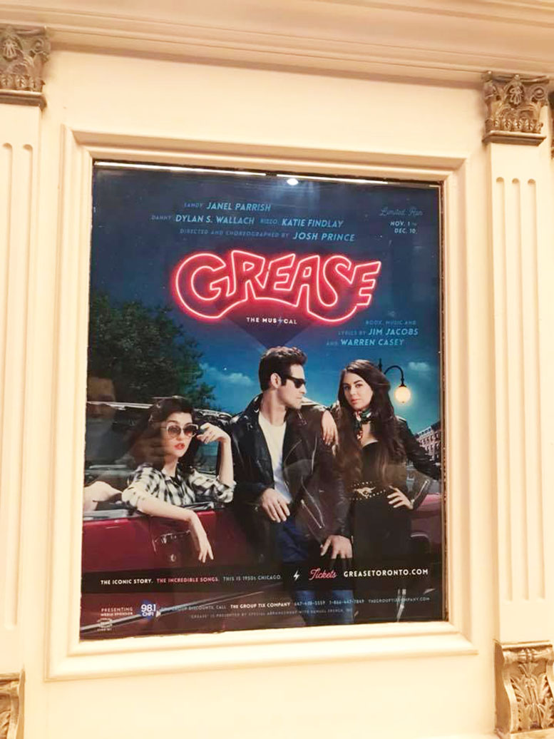 It's GREASE Lightning: FLASH GIVEAWAY – WIN A PAIR OF TICKETS TO SEE #GREASETORONTO Friday November 3rd!