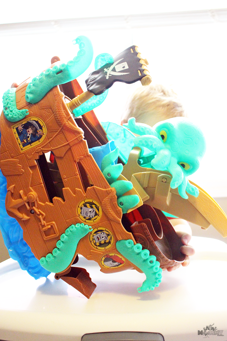 Hours of Fun With The Thomas & Friends™ Adventures Sea Monster Pirate Set