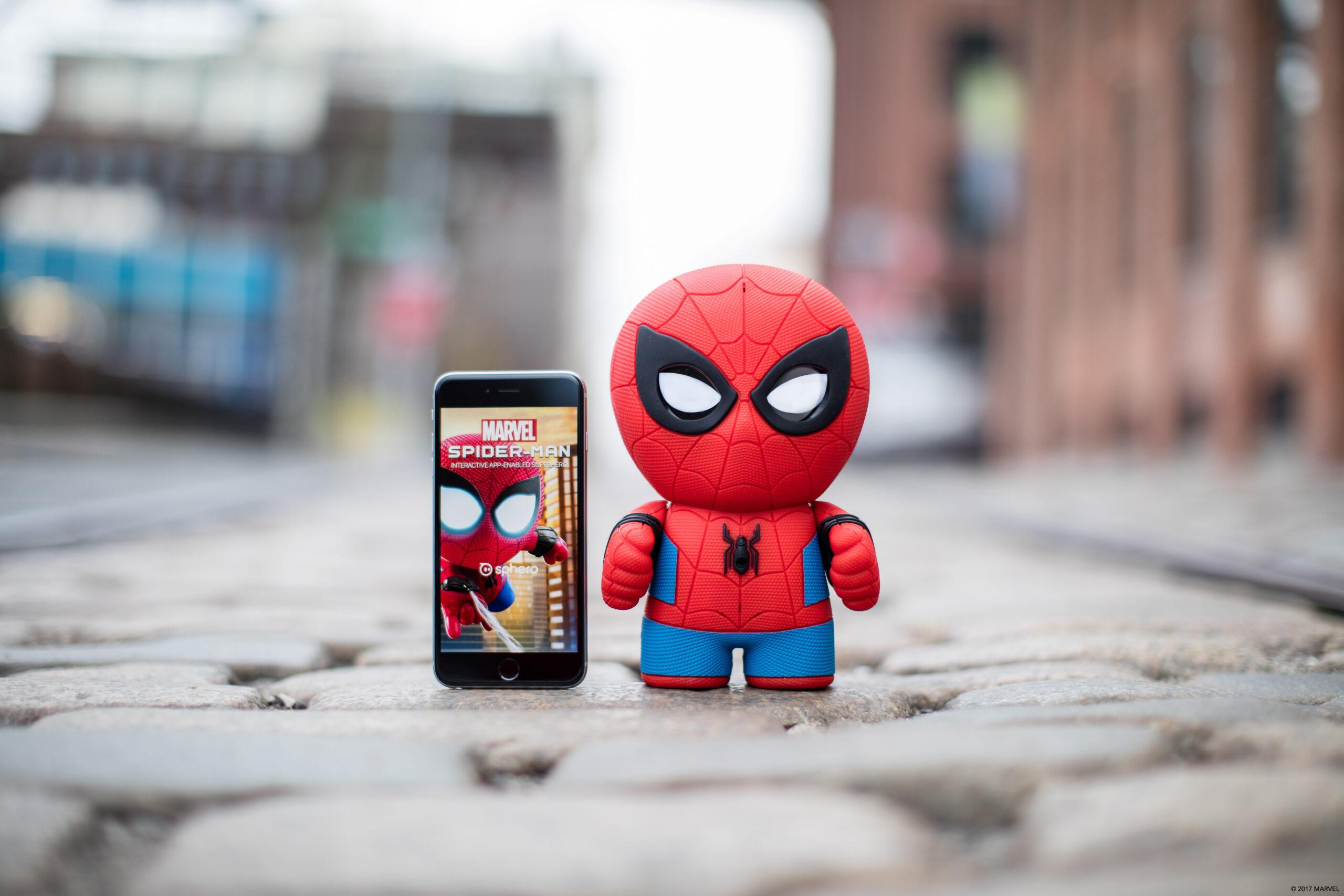 Sphero Spider-Man: The Interactive App-Enabled Super Hero