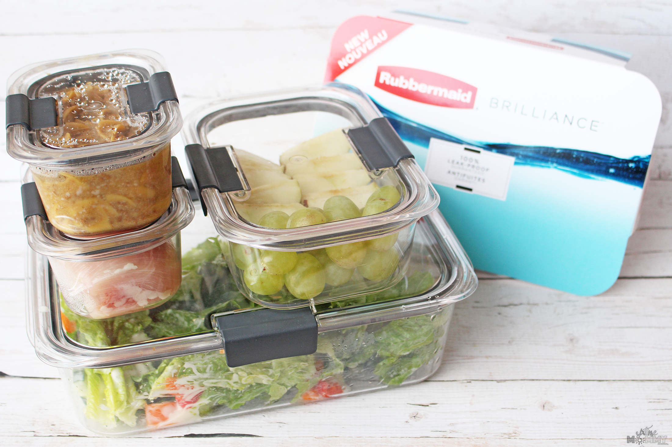 Keep Food Fresh and Take On The Go With Rubbermaid BRILLIANCE