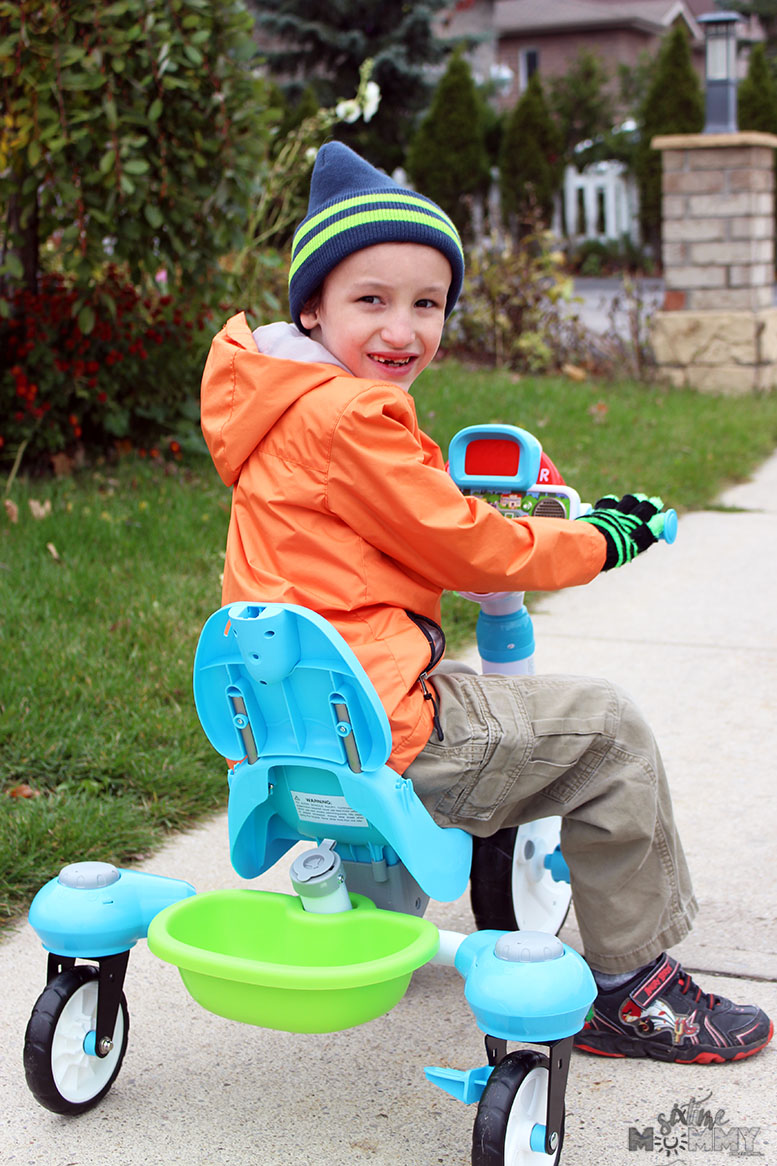 The 4-in-1 Stroll & Grow Tek Trike by VTech: A Perfect Gift Idea For Kids 9mo-6yrs!
