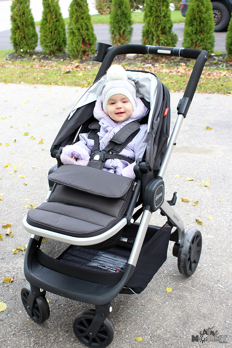 Getting Around in Style With The Diono Quantum Multi-Mode Travel Stroller