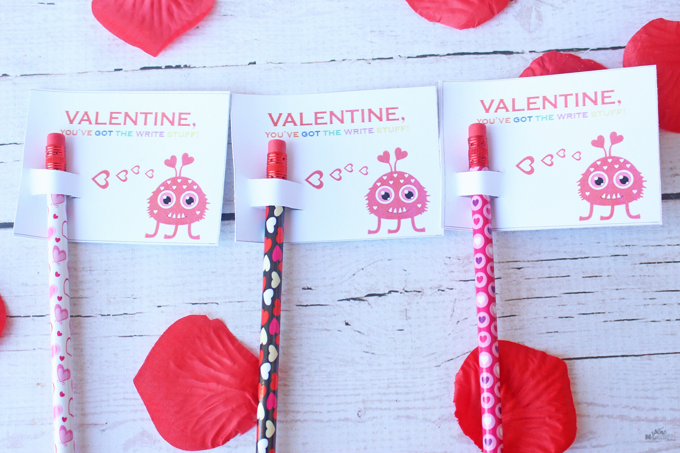 NON-CANDY Valentine's For Kids! Free Printable Included - sixtimemommy.com