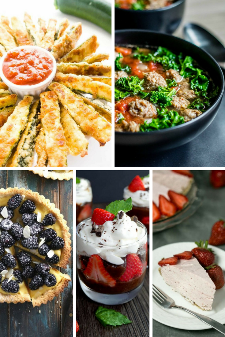 20 Delicious Low Carb Recipes All in one Spot!