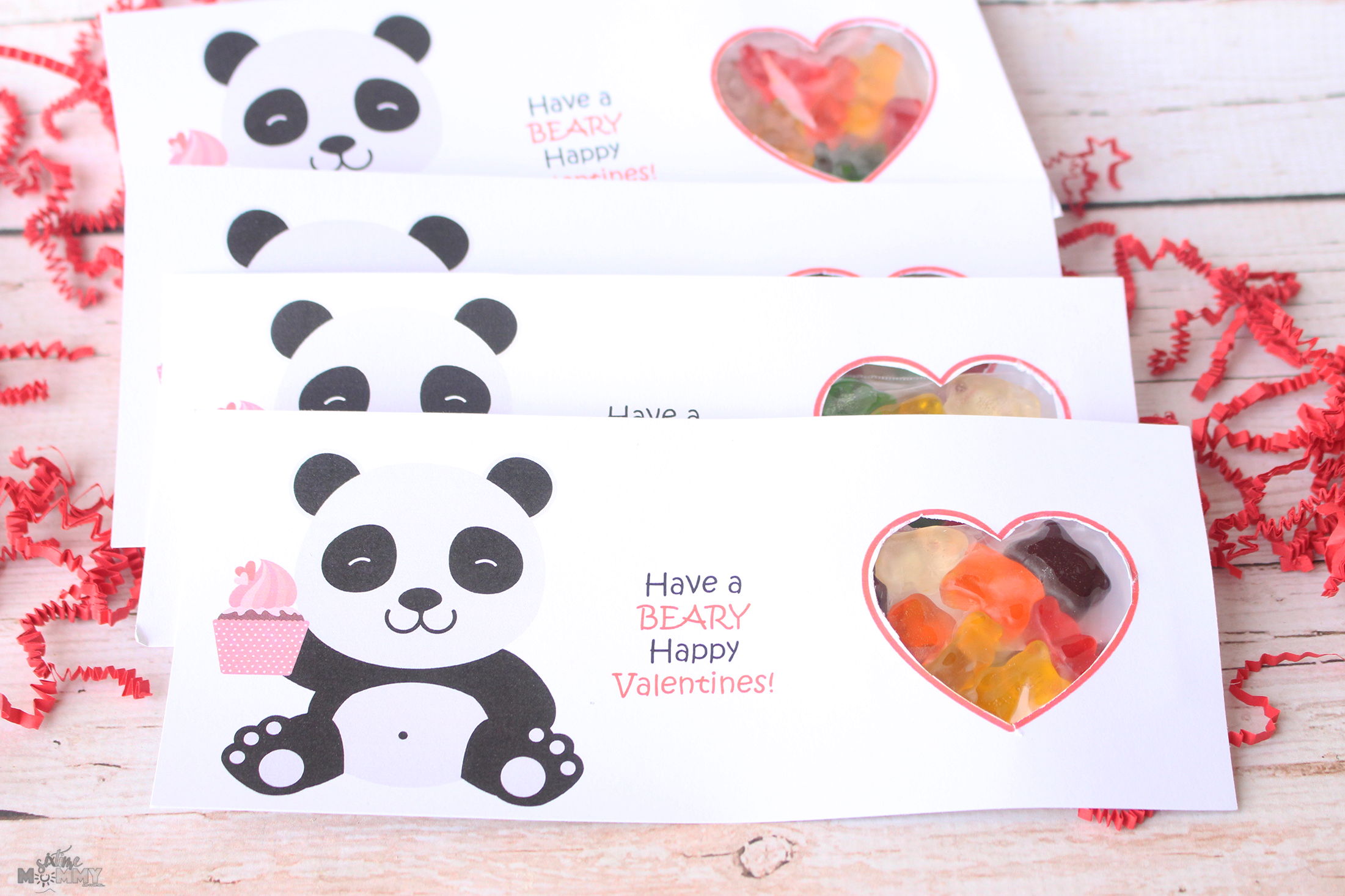 Sweet Treat: DIY Valentine's Gummy Bear Treats With FREE Printable