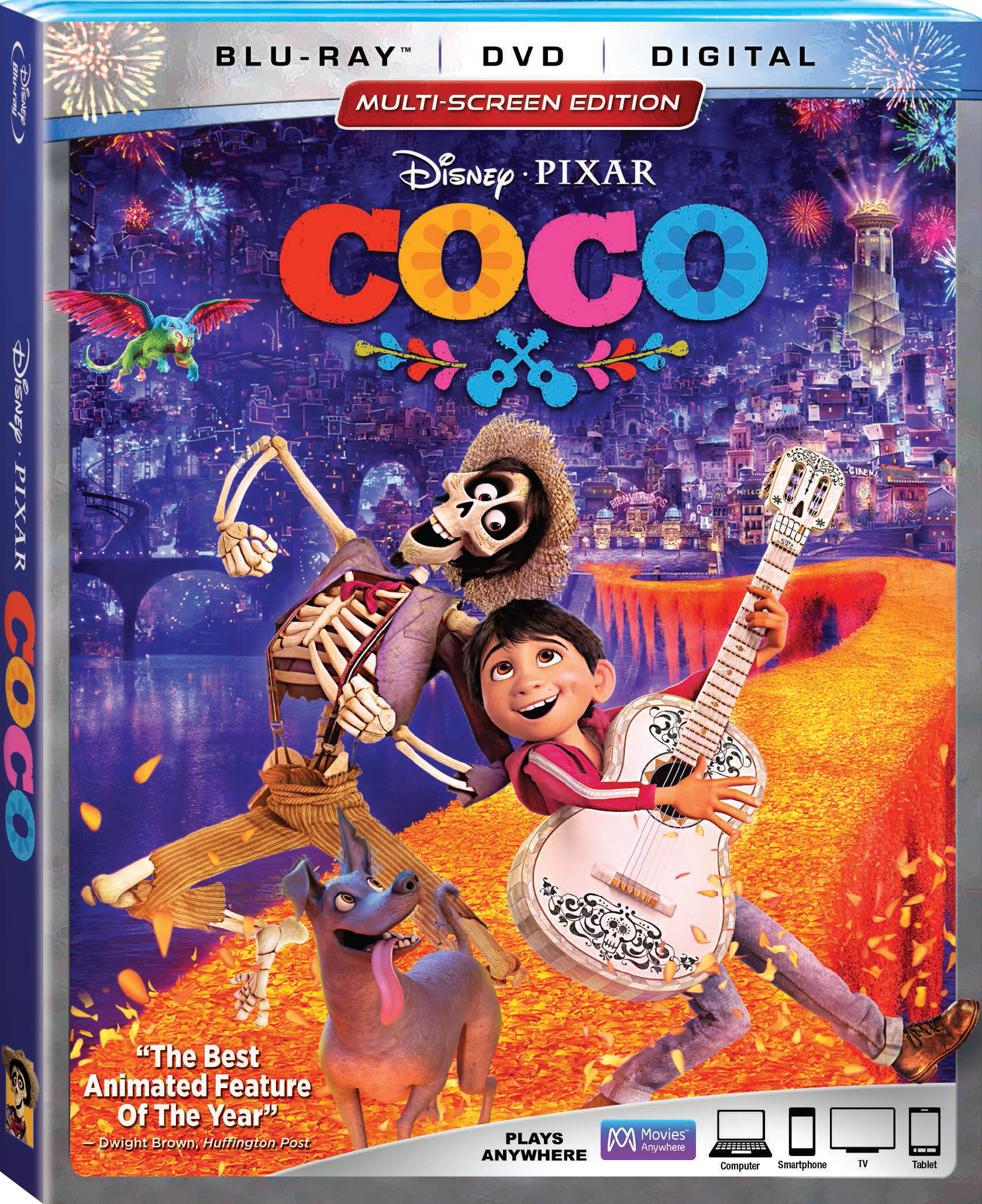 Disney Pixar's COCO on Blu-Ray Feb 27 + Giveaway