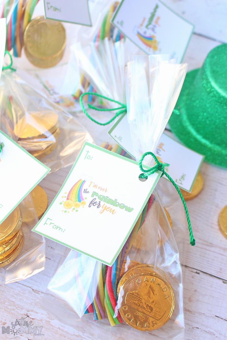 St. Patrick's Day Classroom Treats + FREE Printable
