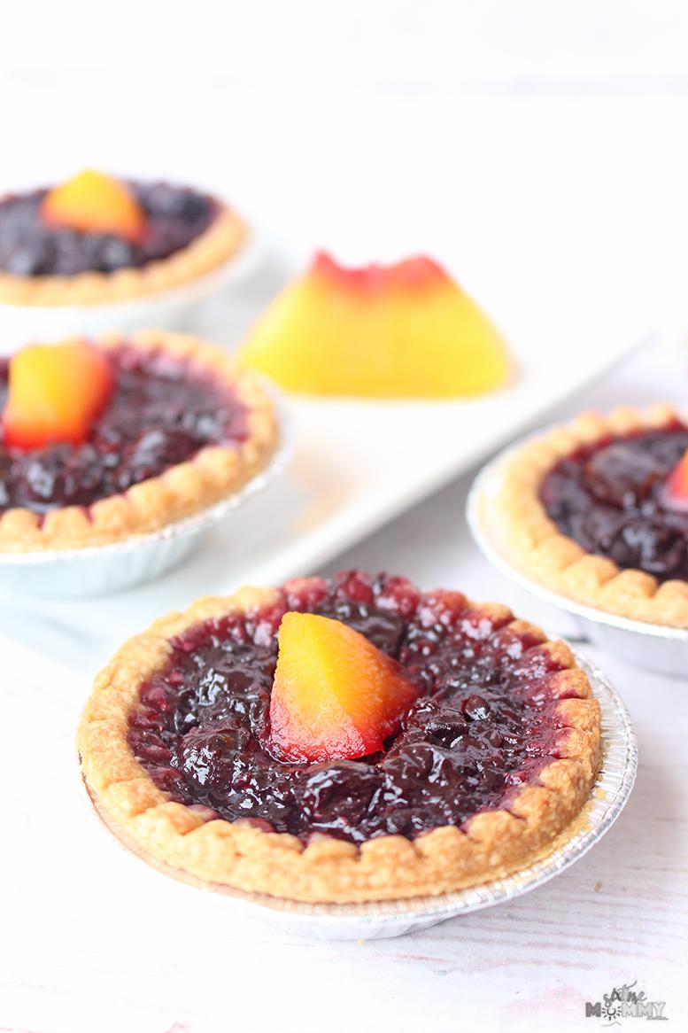 Mixed Berry Fruit Tarts