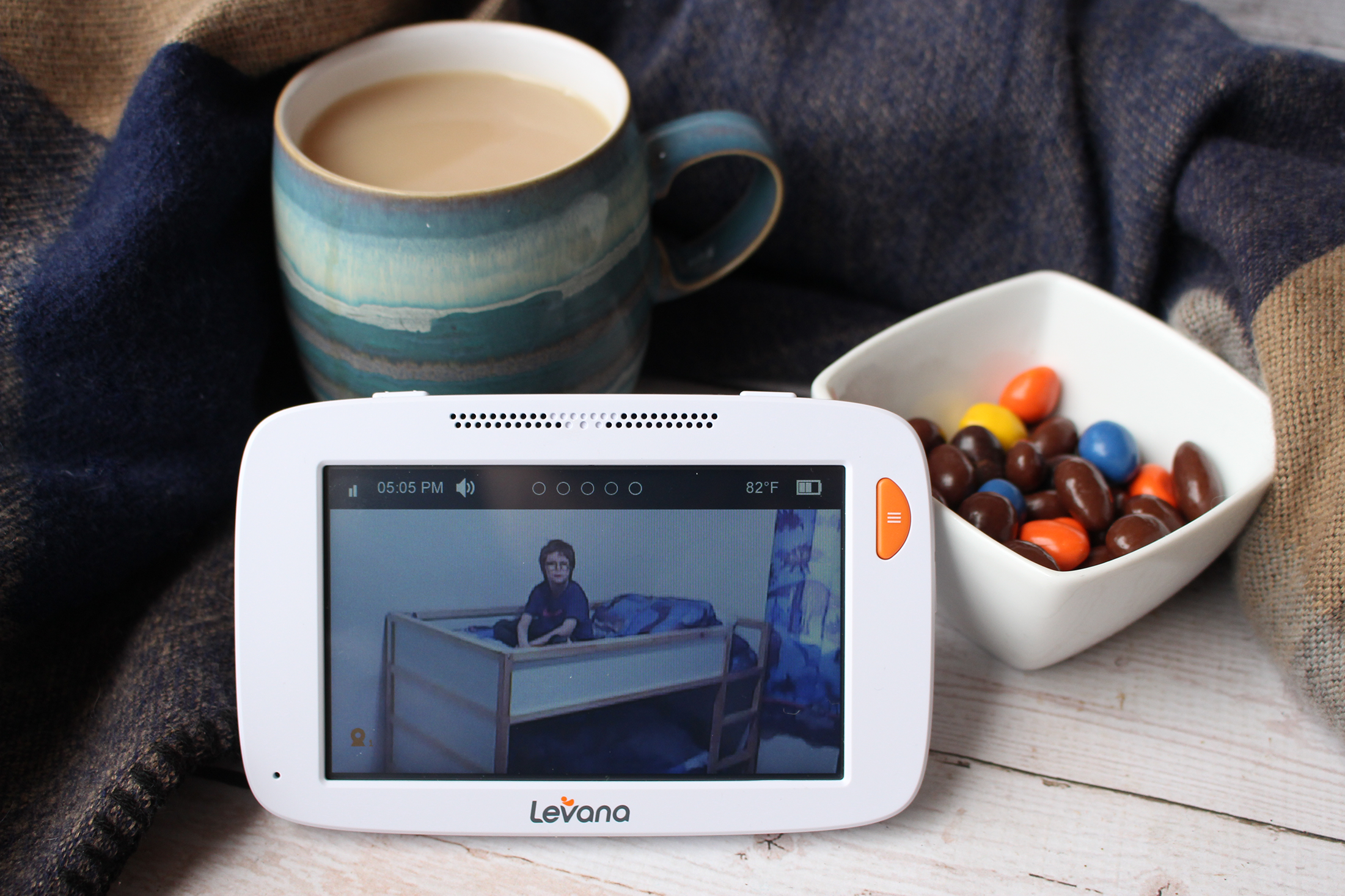 "Upgrading For Peace Of Mind: With The Levana Willow 5"" Video Baby Monitor with PTZ Camera"