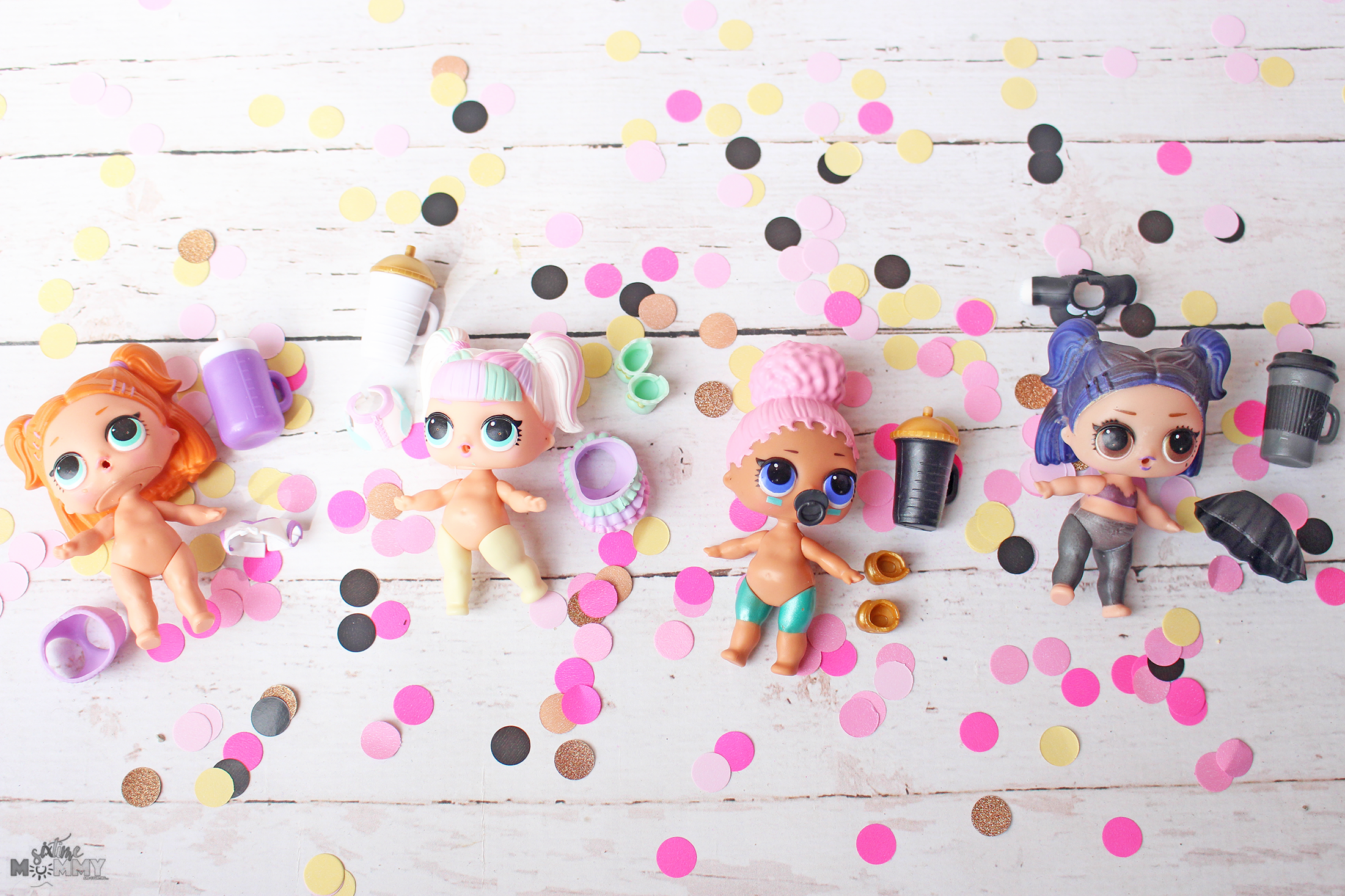 LOL Surprise! Confetti Pop, Pets and Pearl Surprise Dolls