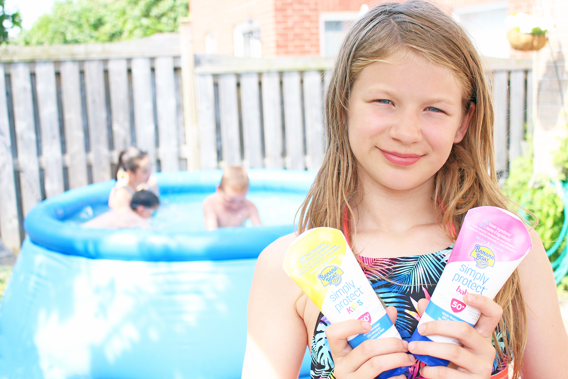Keeping The Kids Protected During Summer Fun With Simply Protect Kids and Baby Lotion