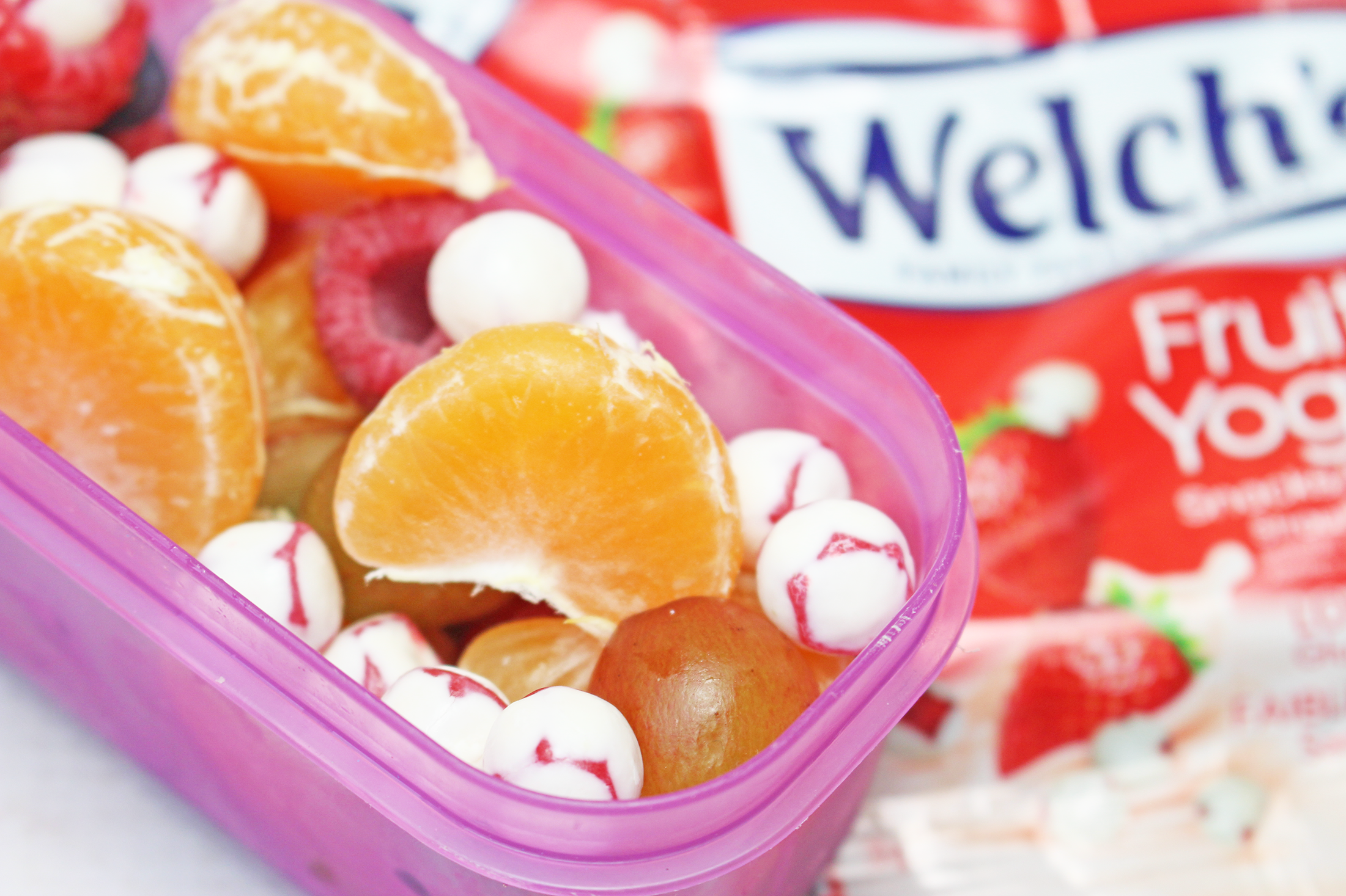 Head Back to School with Welch's Fruit 'n Yogurt and Three Creative Snack Ideas + Coupon Code