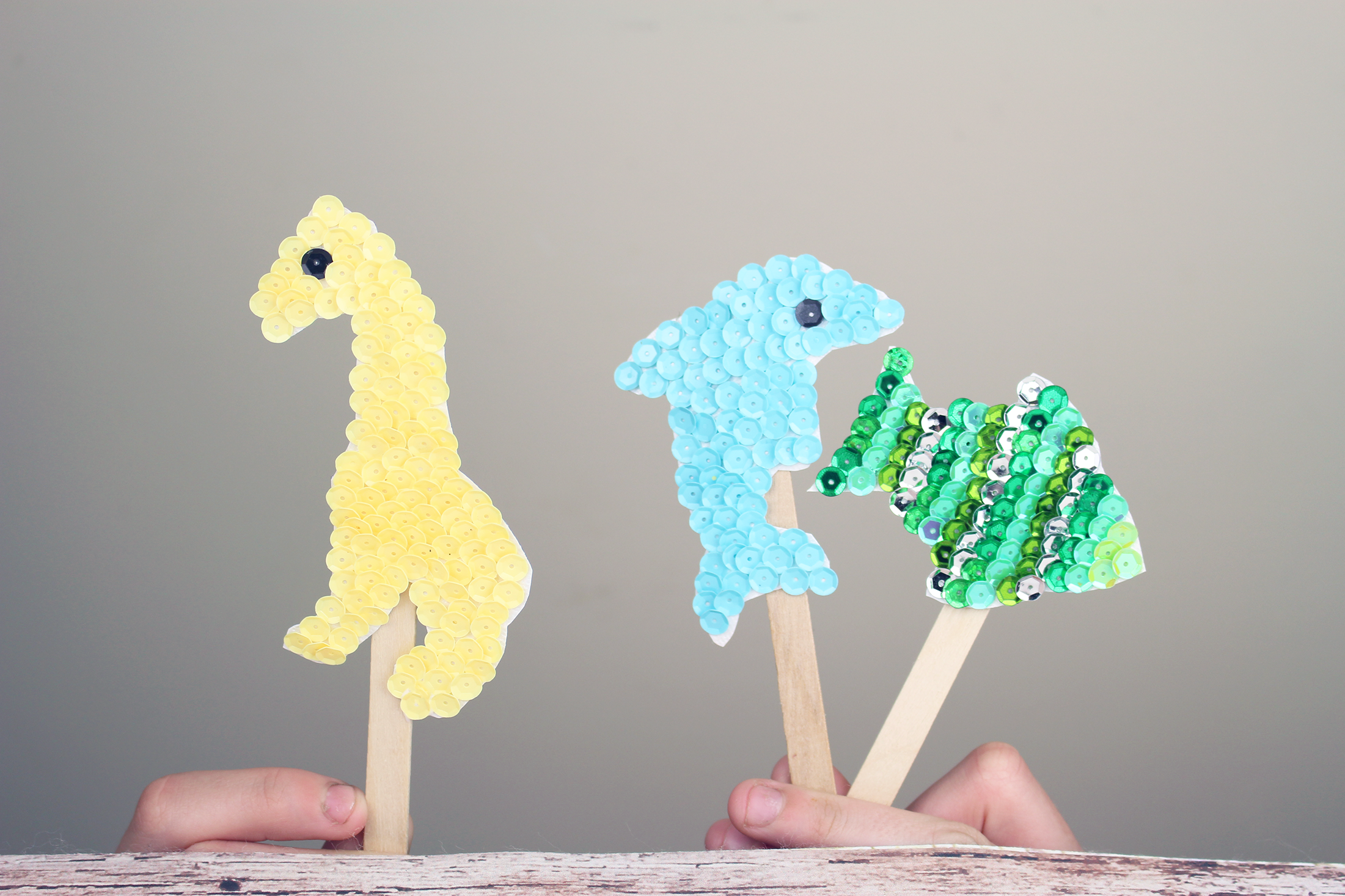 Homemade Popsicle Stick Puppets