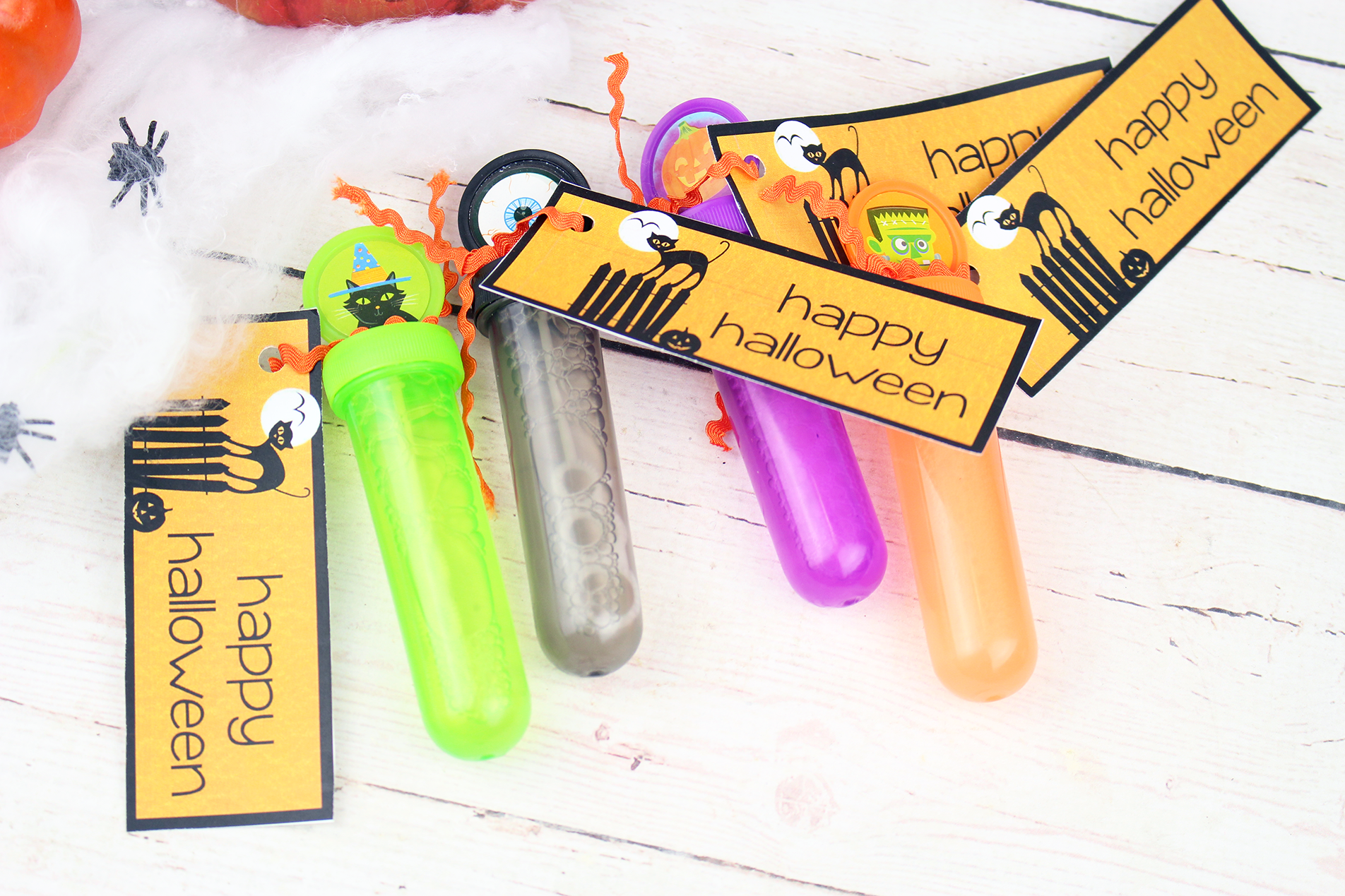 Non-Candy Halloween Treat Idea + FREE Printable