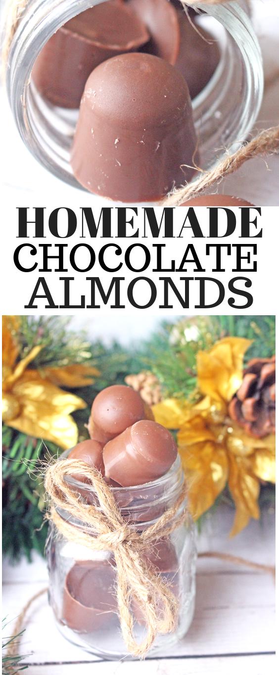 Homemade Chocolate Almonds