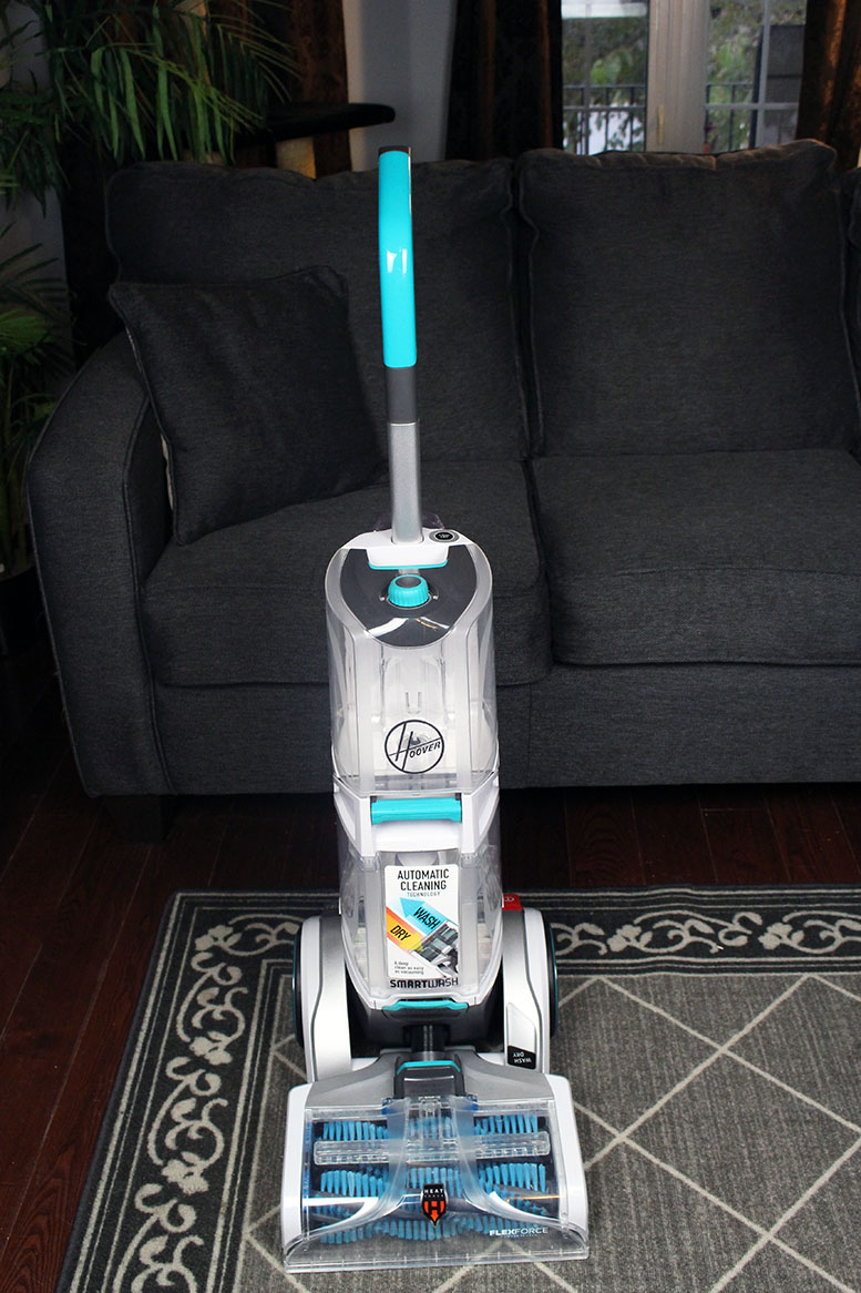 Keeping Carpets Looking Brand New With The SmartWash+ Automatic Carpet Cleaner from Hoover