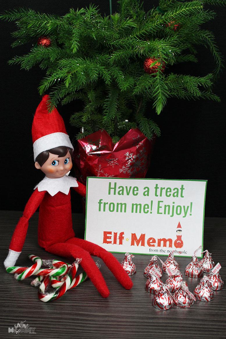 Elf On The Shelf: Printable Customizable Elf Memo Notes