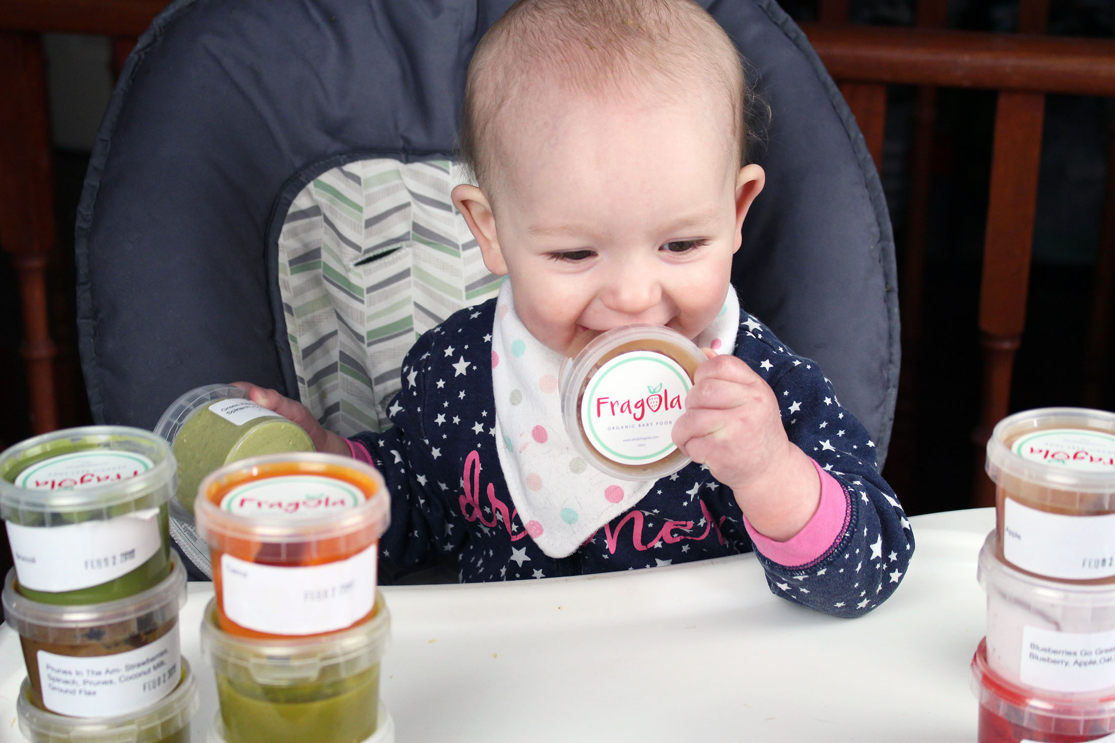 Real Food for Babies: Fragola Organic Baby Food