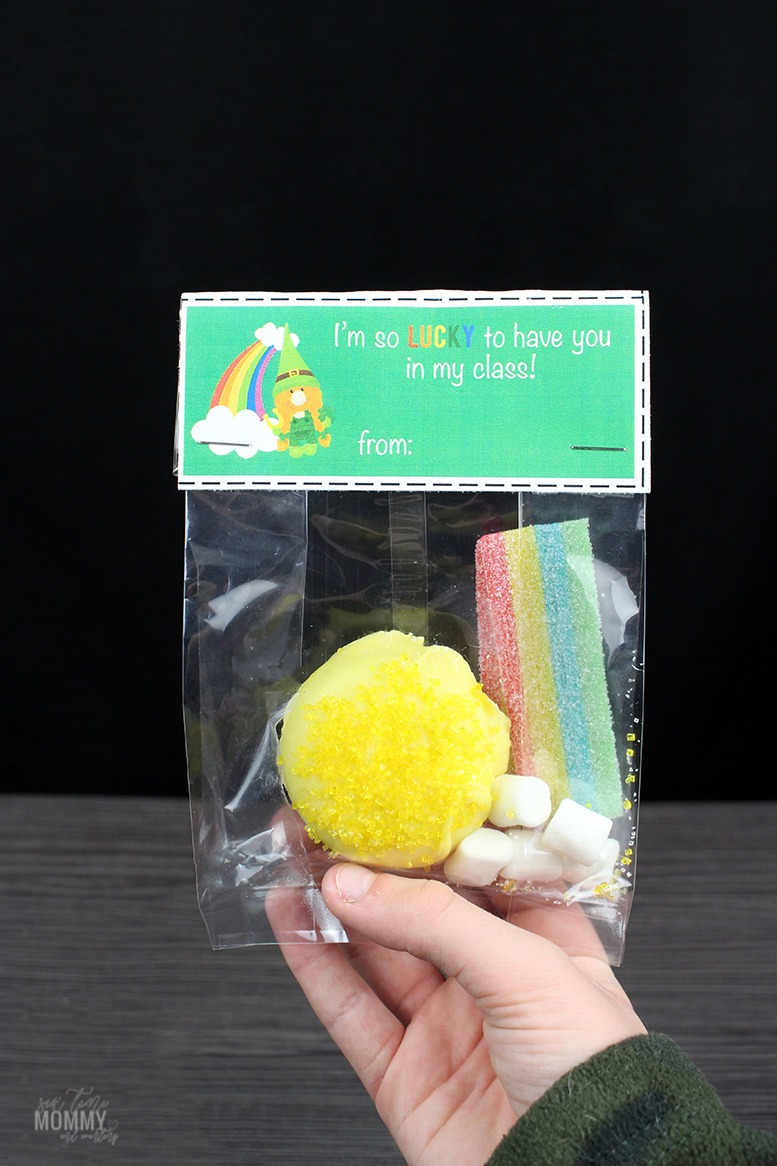 St. Patrick's Day Printable Bag Topper + Treat Ideas