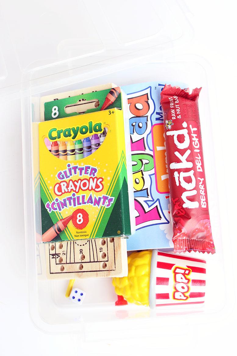 DIY Mini Kids Travel Kit