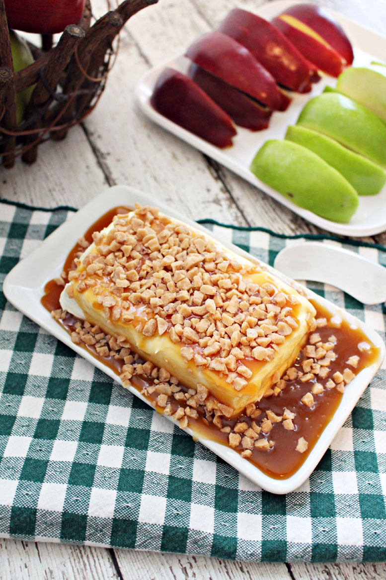 Caramel Apple Toffee Dip