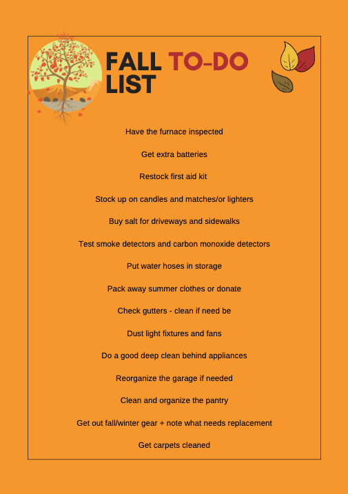 Fall Cleaning To-Do List + Free Printable