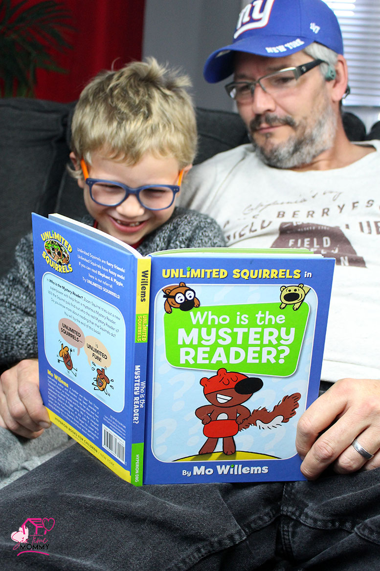 Unlimited Squirrels: Who is the Mystery Reader?
