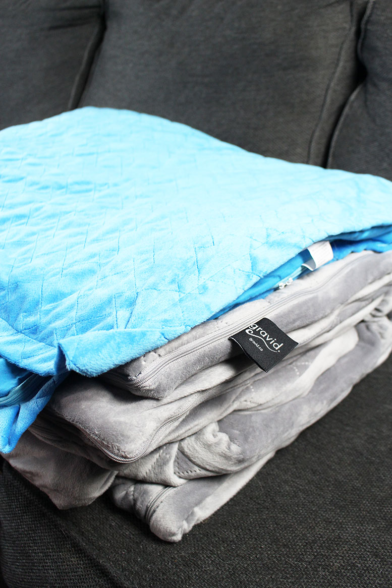 Gravid Weighted Blanket: For Anxiety and Insomnia