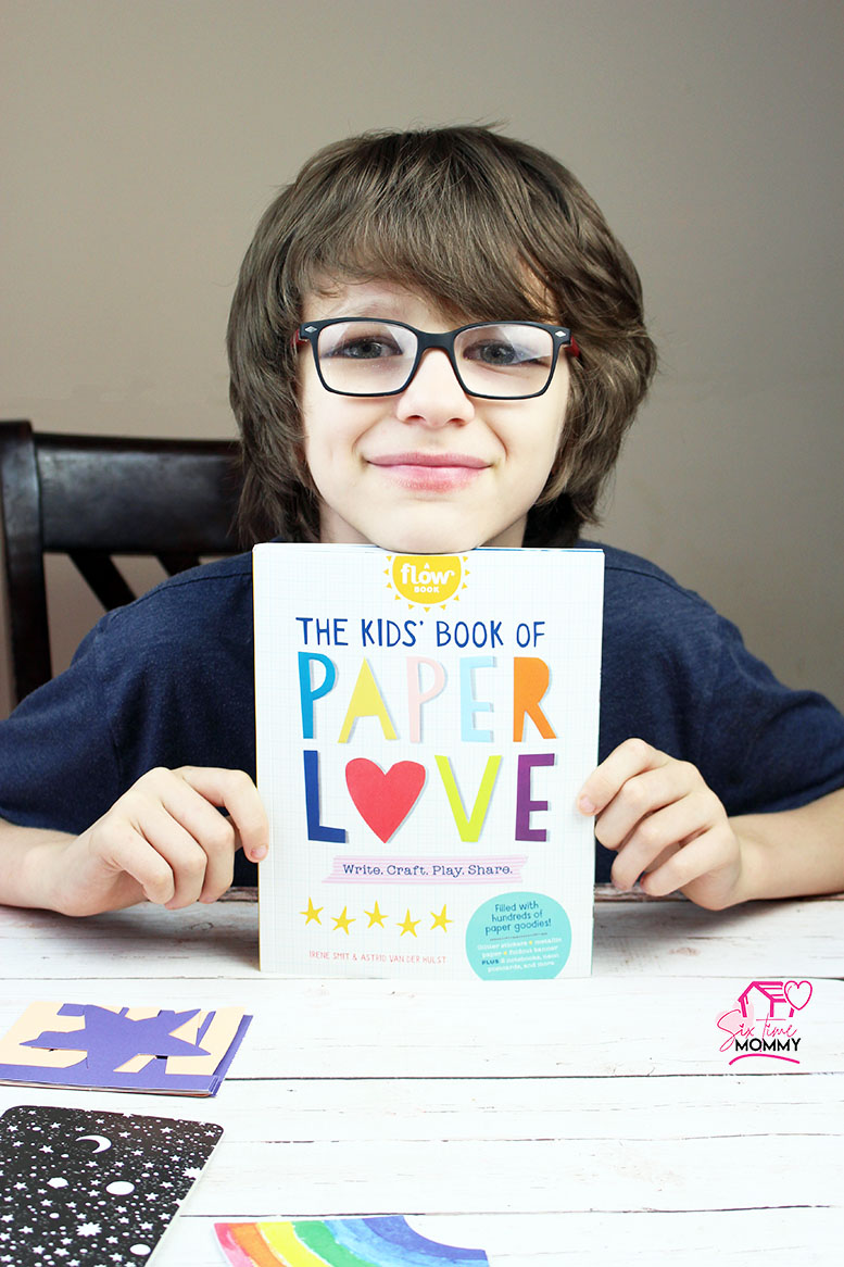 The Kids' Book of Paper Love + GIVEAWAY!
