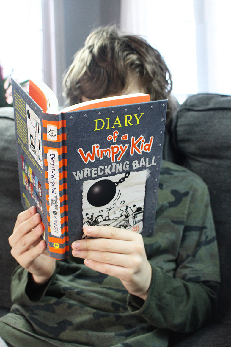 NEW! Diary of a Wimpy Kid #14: Wrecking Ball