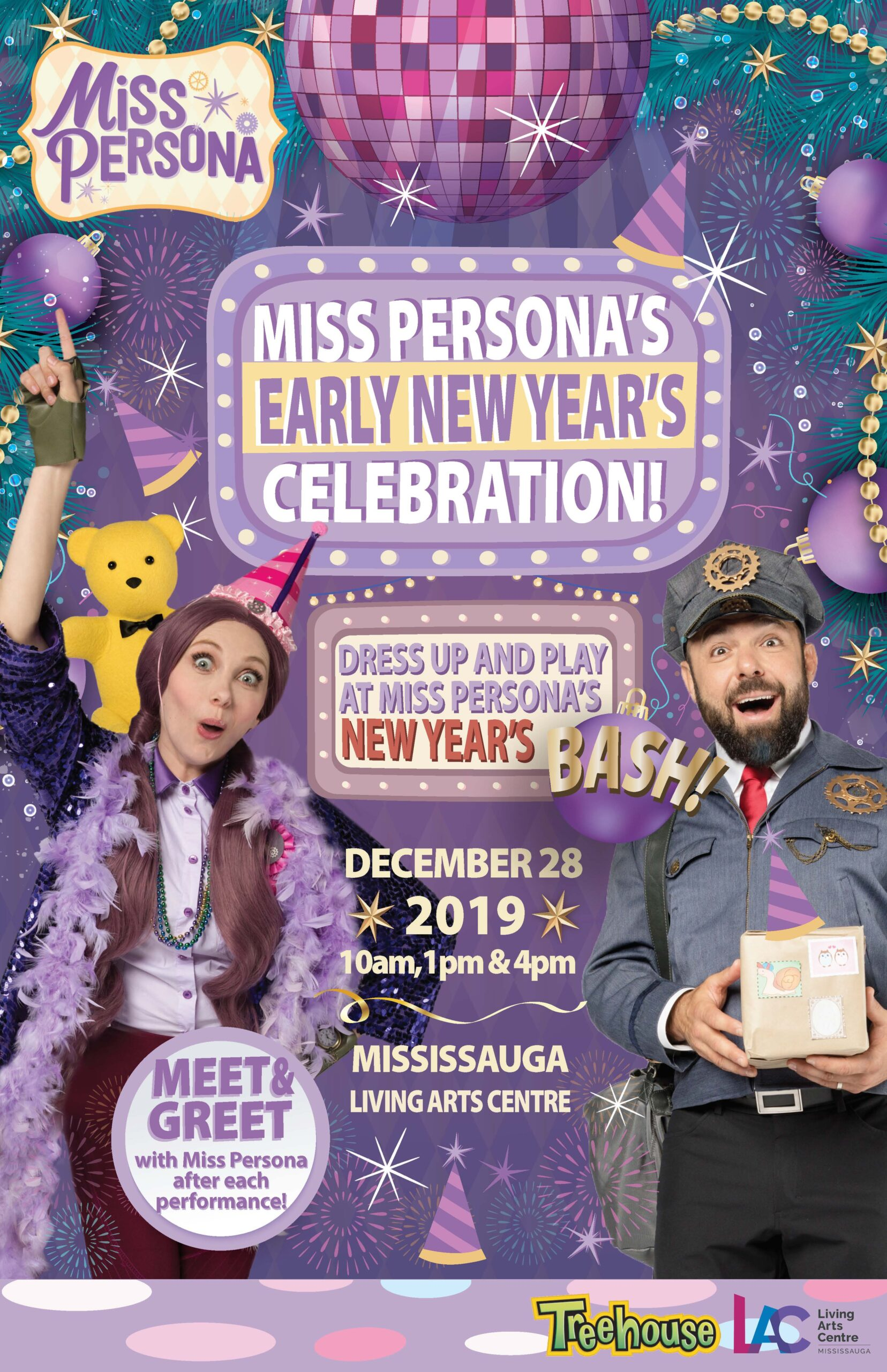 Win Tickets to Miss Persona's Early New Year's Celebration (Mississauga)