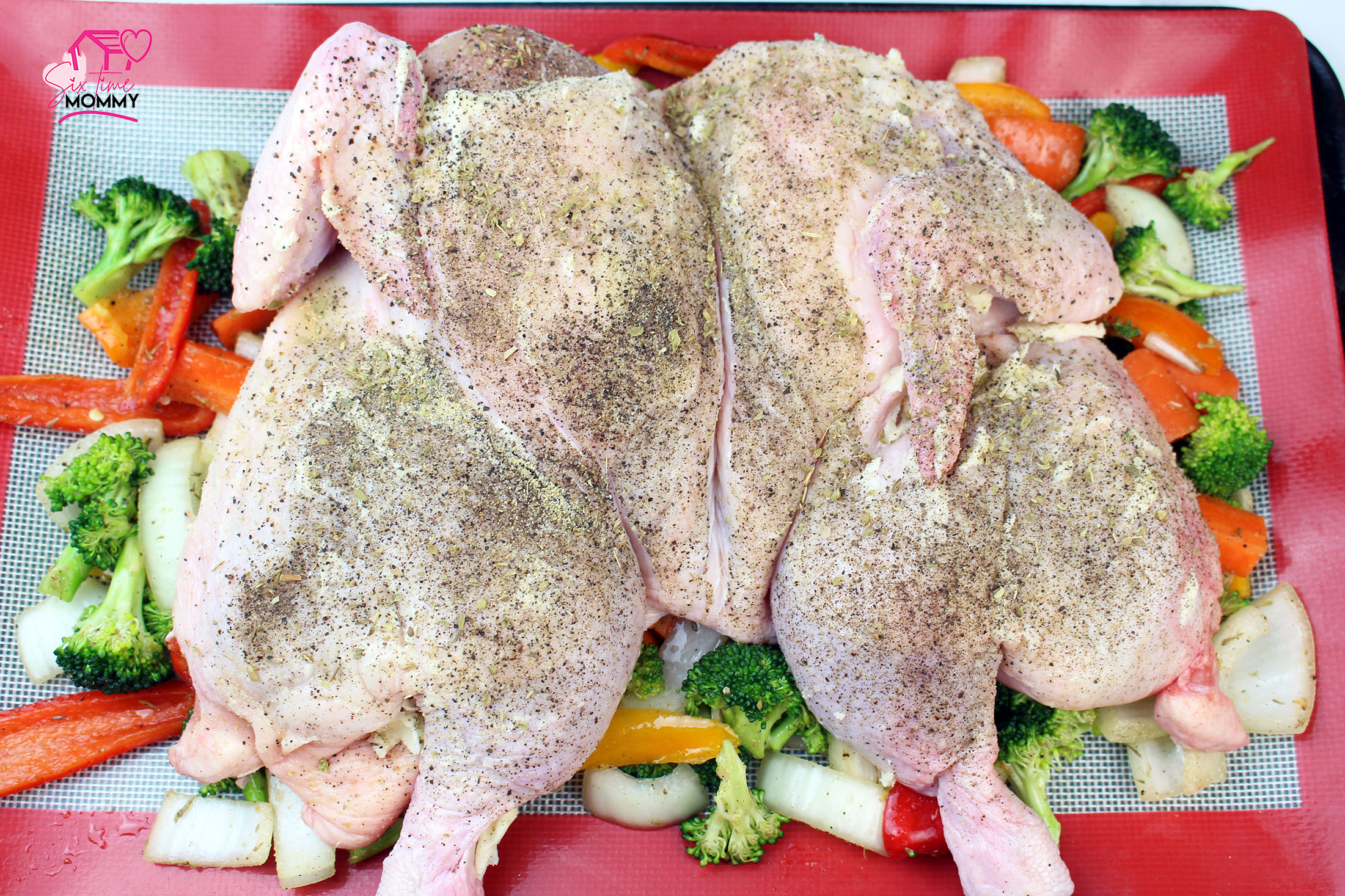 One Sheet Whole Chicken Recipe