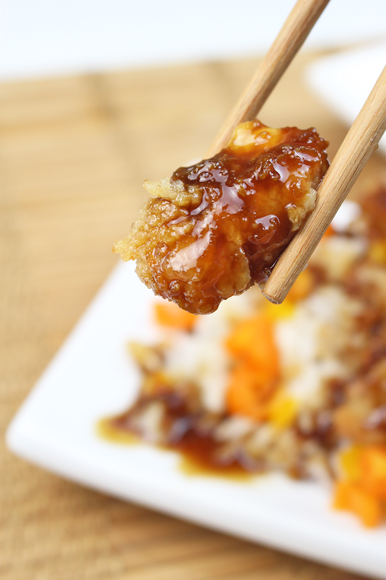 Crispy Asian Orange Chicken