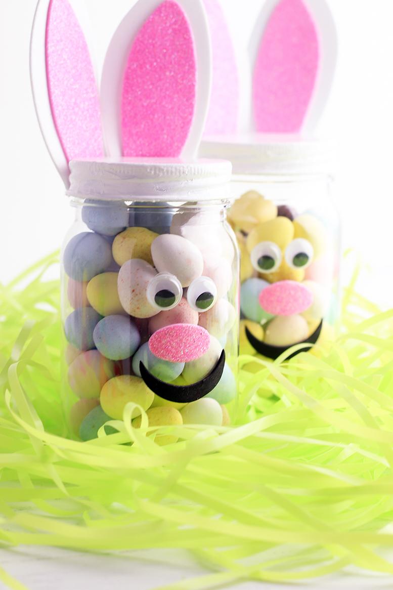 Make At Home Easter Treat Jars