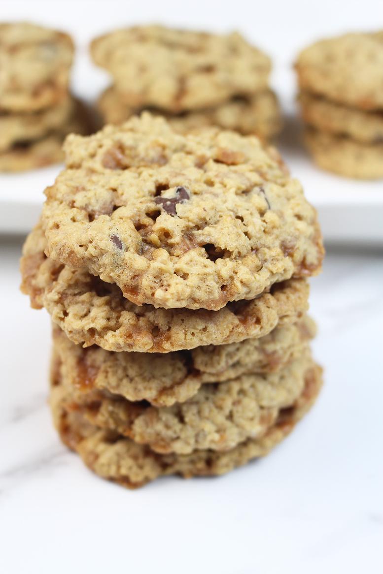 Oatmeal Skor Cookies