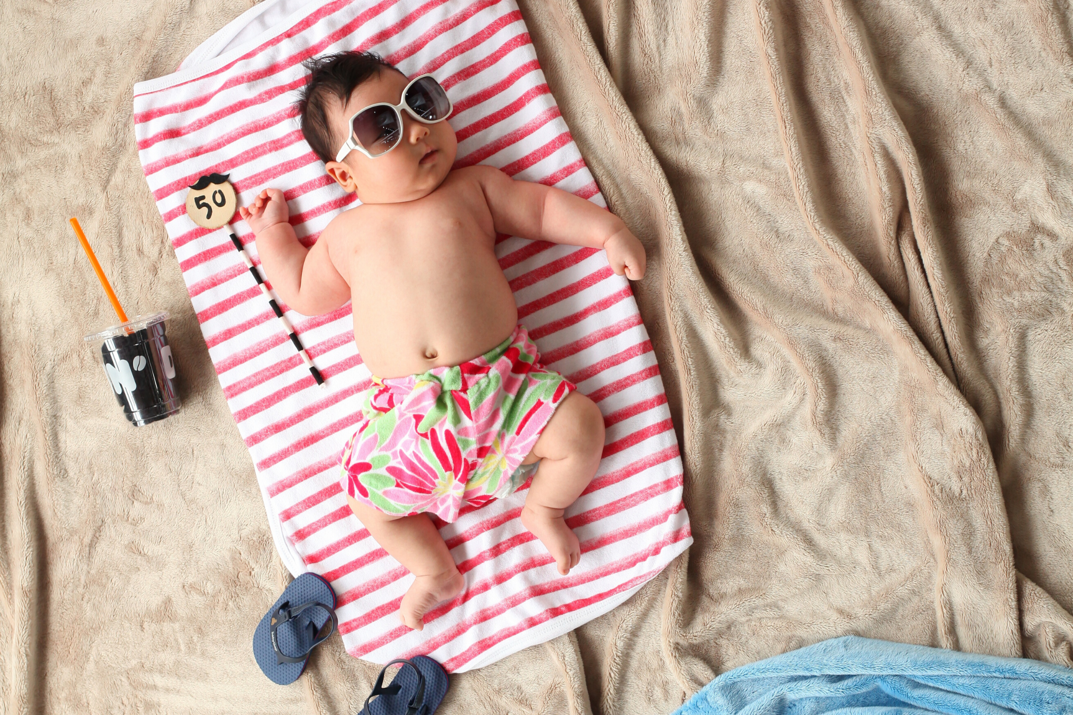 Keeping Baby Cool in The Summer