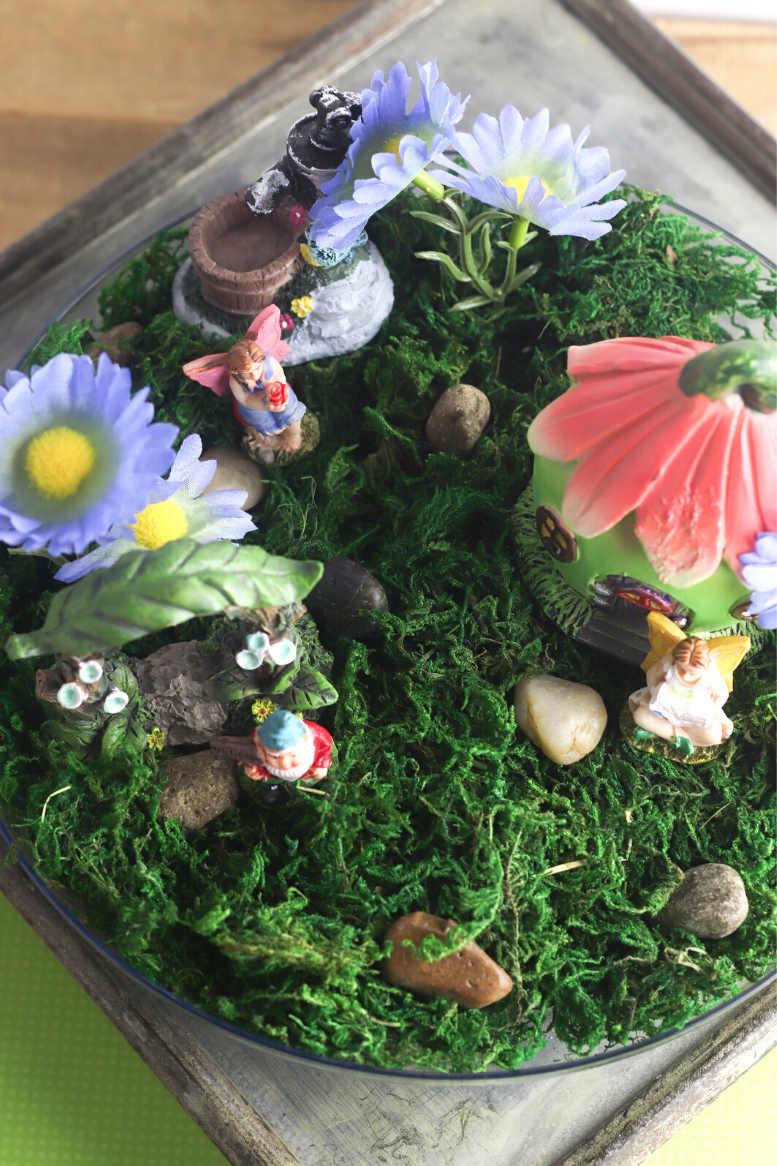 DIY Magical Fairy Garden