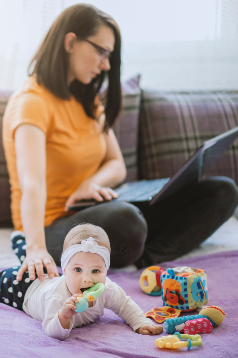 Easy Time Management Tips for Work at Home Moms