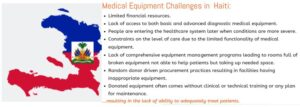 Medical Equipment Challenges In Haiti