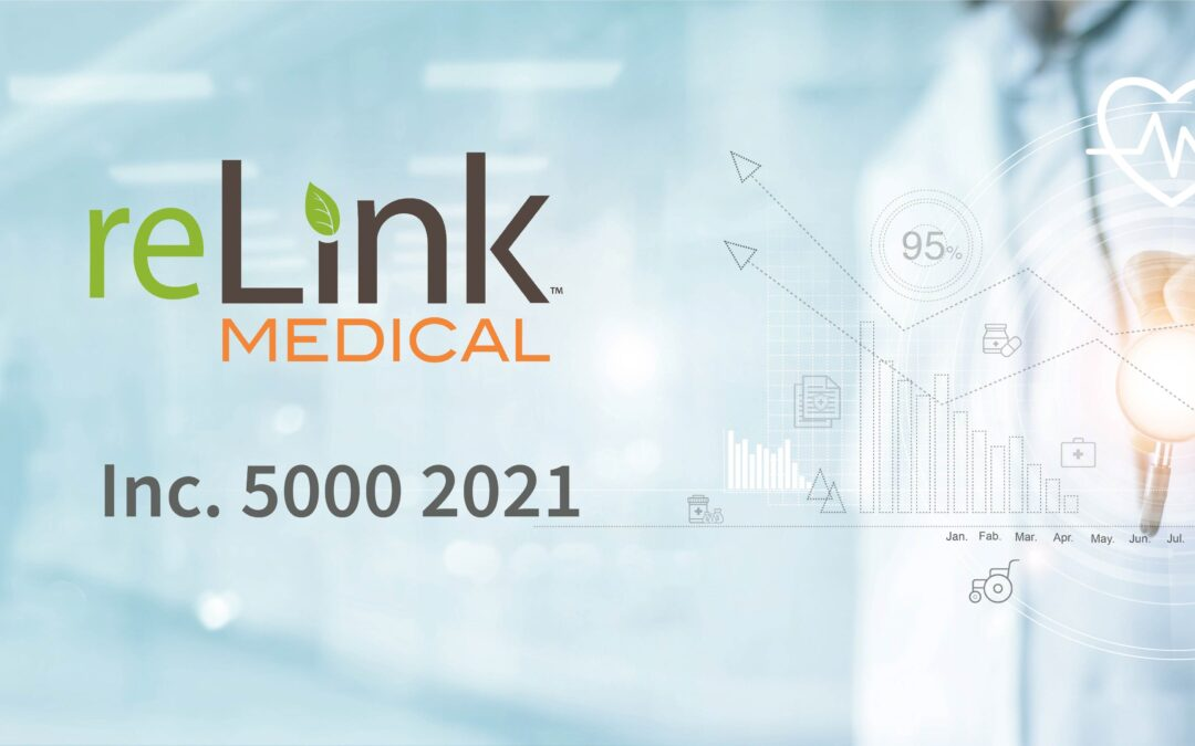 reLink Medical Named to The 2021 Inc. 5000 List