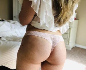 Sophia's Pale Pink Thong