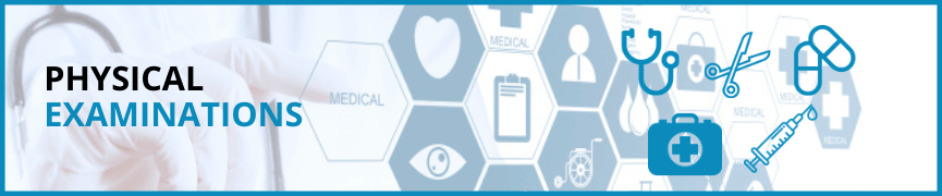 Physical Examination Heading Logo