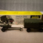 SIMCA-UNIC 4X4 AND CANNON
