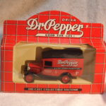 Lldeo Days Gone Dr. Pepper Delivery Truck Red